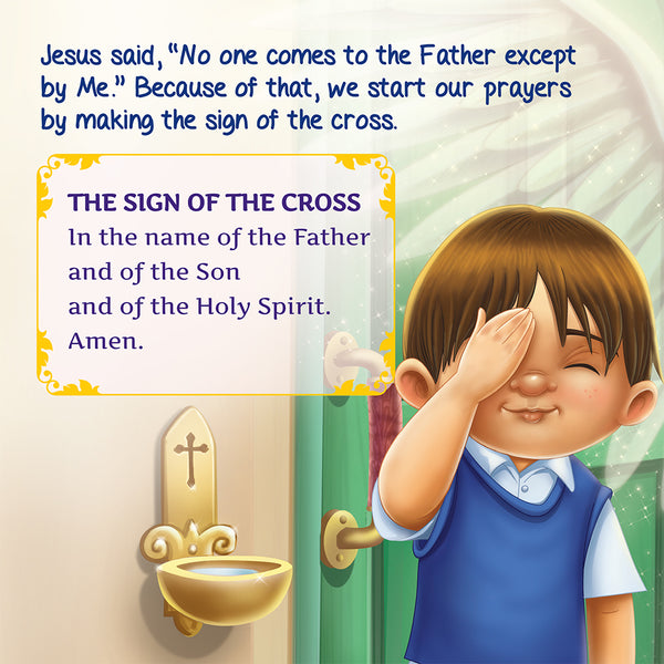 I Love to Pray - The Sign of the Cross sample page.