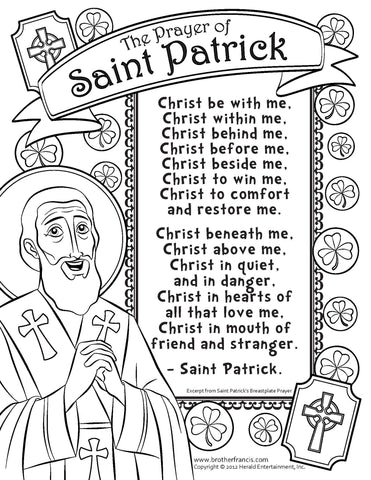 Download and Print - Saint Patrick's Prayer