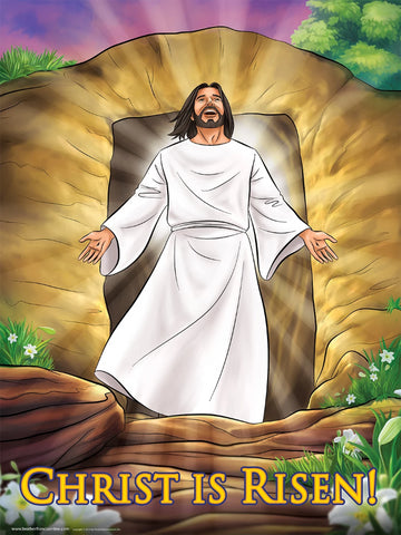 Resurrection - Easter Poster - Christ is Risen