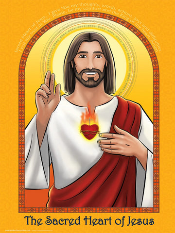 Sacred Heart of Jesus Poster