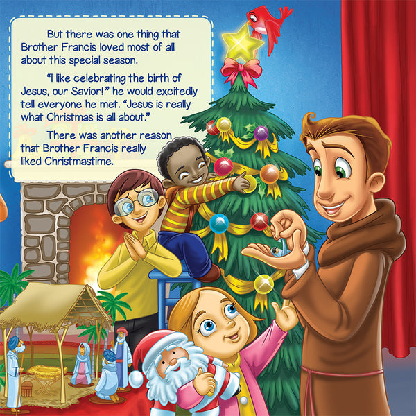 The Christmas Pageant that Almost Wasn't - A Brother Francis Reader sample page 1