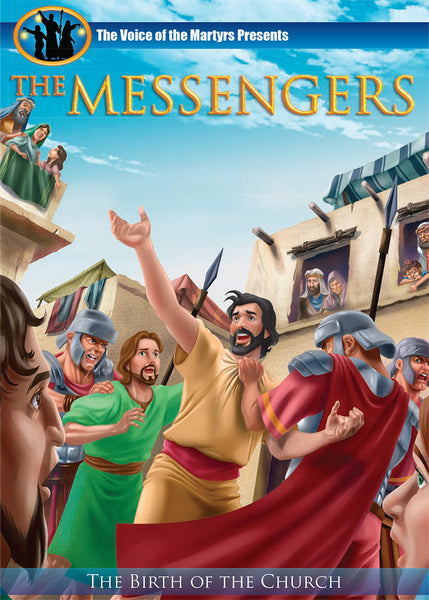 The Messengers - feature length, animated movie about the early Church and Paul the apostle.