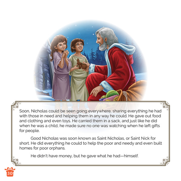 The Story of Saint Nicholas by Brother Francis - sample page 2