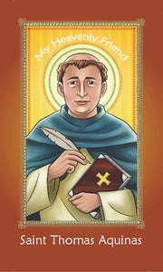 Prayer Card - Saint Thomas Aquinas