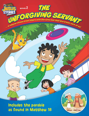 The Unforgiving Servant coloring book - The Jesus Stories, includes parable from Matthew 18