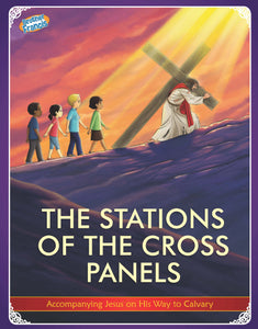 Stations of the Cross Panels by Brother Francis