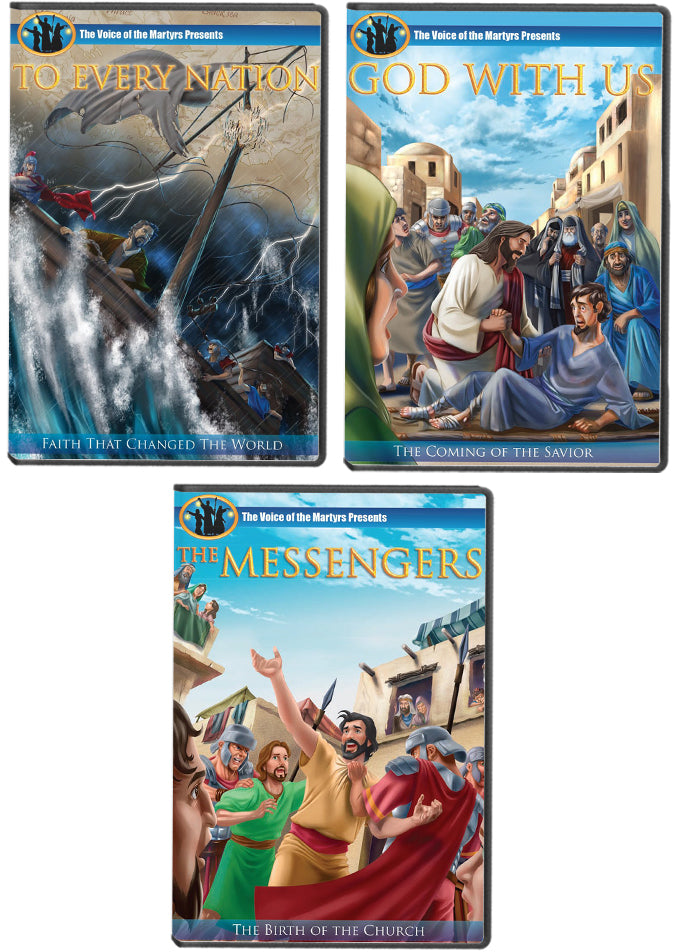 "The Witnesses Trilogy: ""God With Us"", ""The Messengers"" and ""To Every Nation"" DVDs"