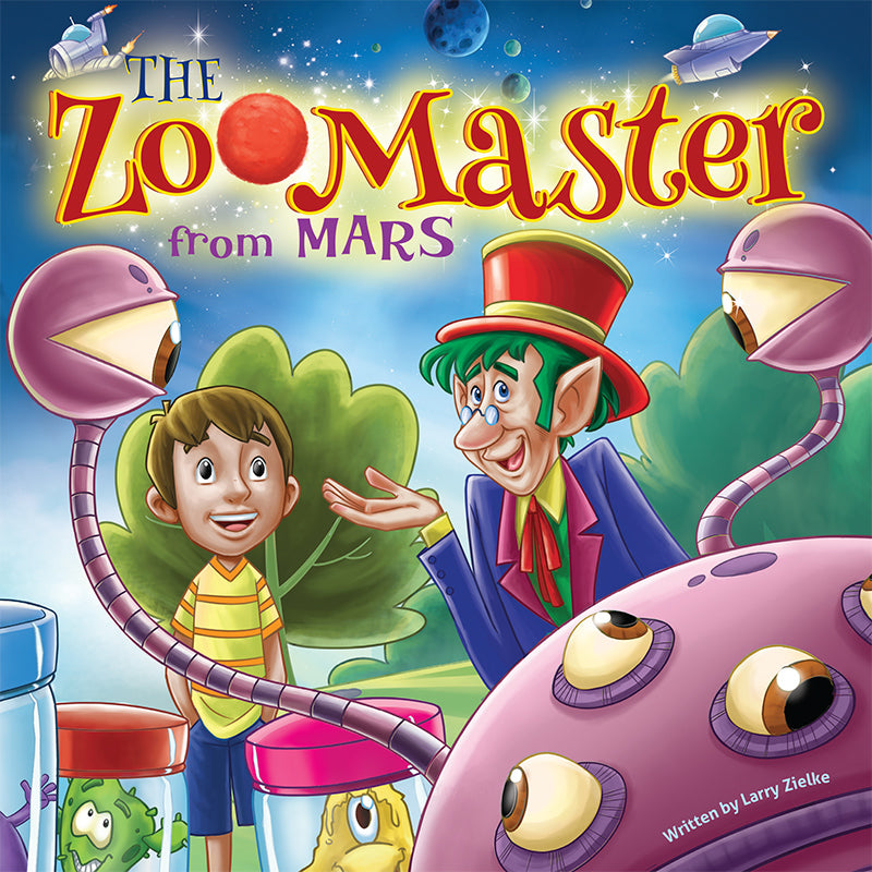 The Zoomaster from Mars - a humorous tale about just being yourself.