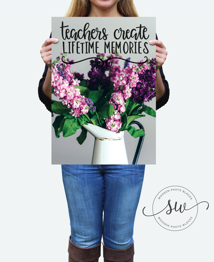 Teacher Gift | A3 | Wall Art | Clasroom | Appreciation Gift