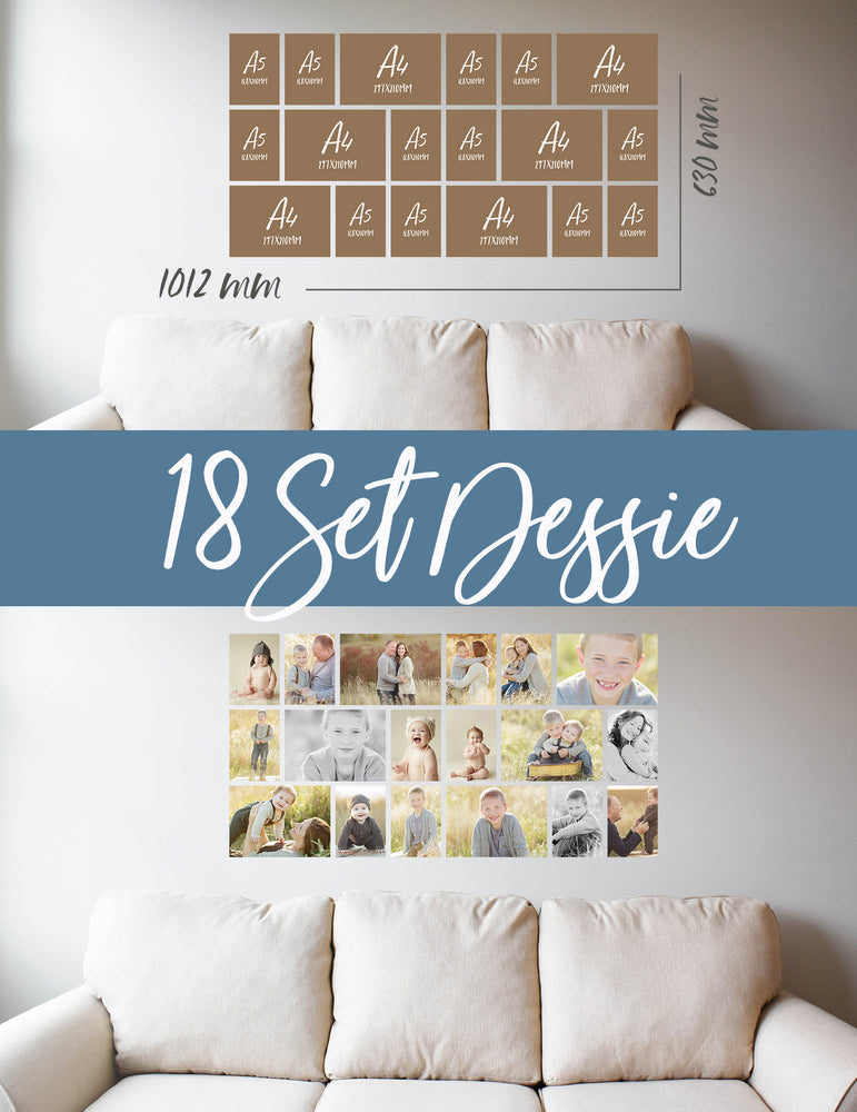 Story Wall Collage | 18 Set | Dessie