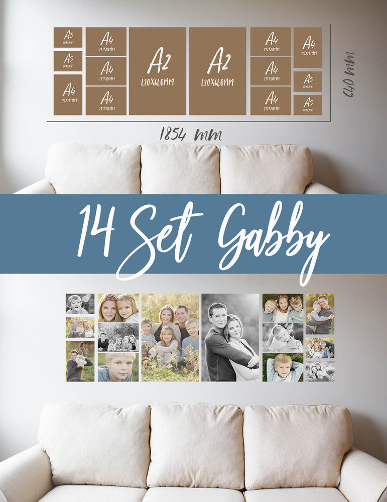 Story Wall Collage | 14 Set | Gabby