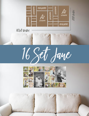 Story Wall Collage | 16 Set | Jane Set