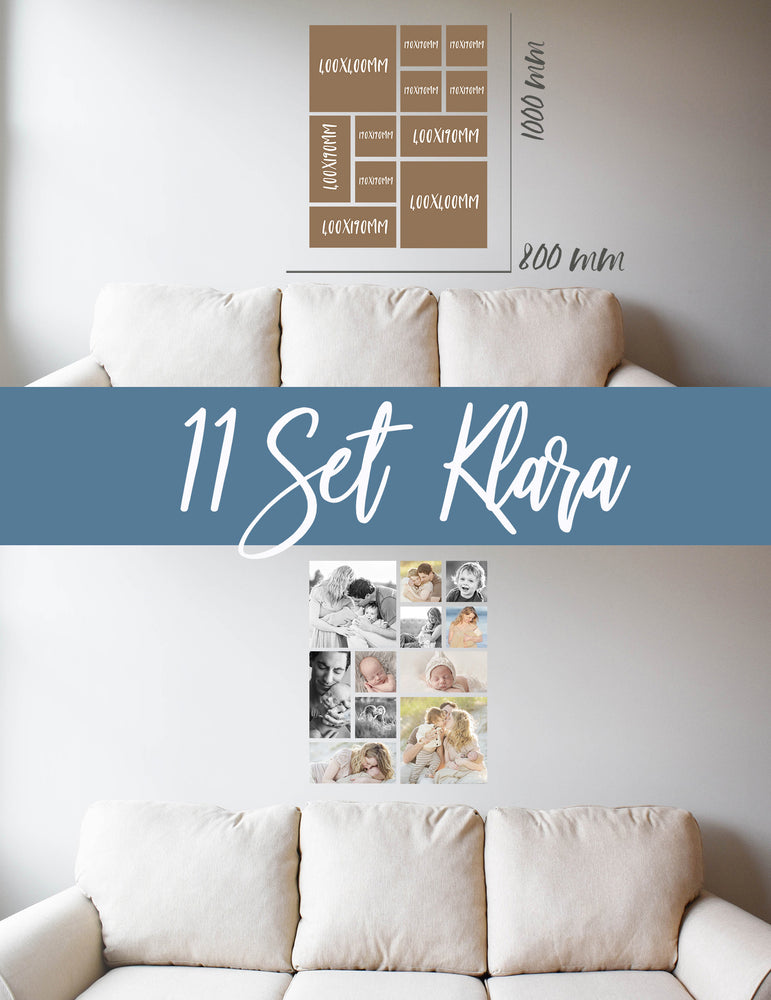 Story Wall Collage | 11 Set | Klara Set