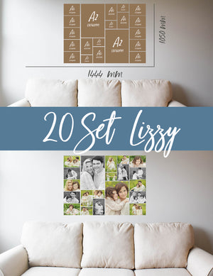 Story Wall Collage | 20 Set | Lizzy
