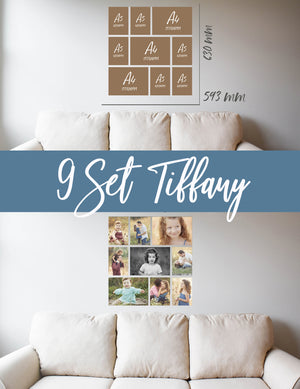 Story Wall Collage | 9 Set | Tiffany Set