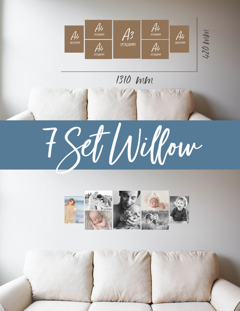 Story Wall Collage | 7 Set | Willow Set