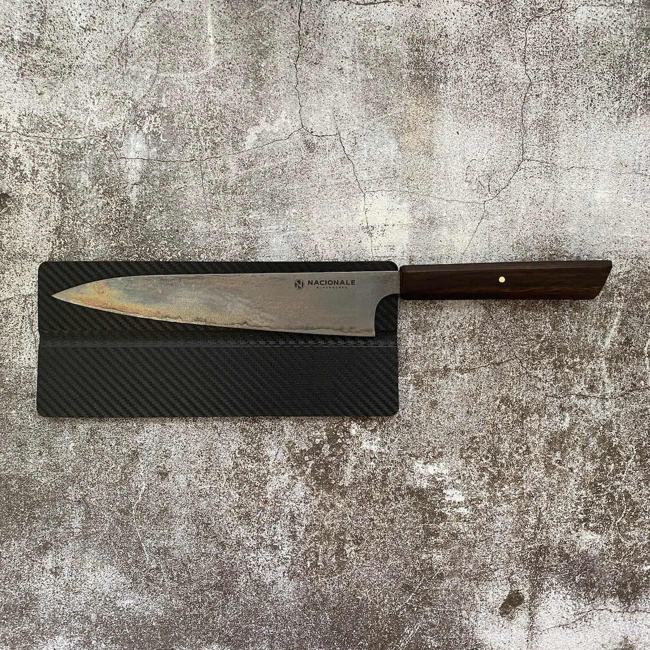 215mm Magnetic Knife Guard + Leather Strop