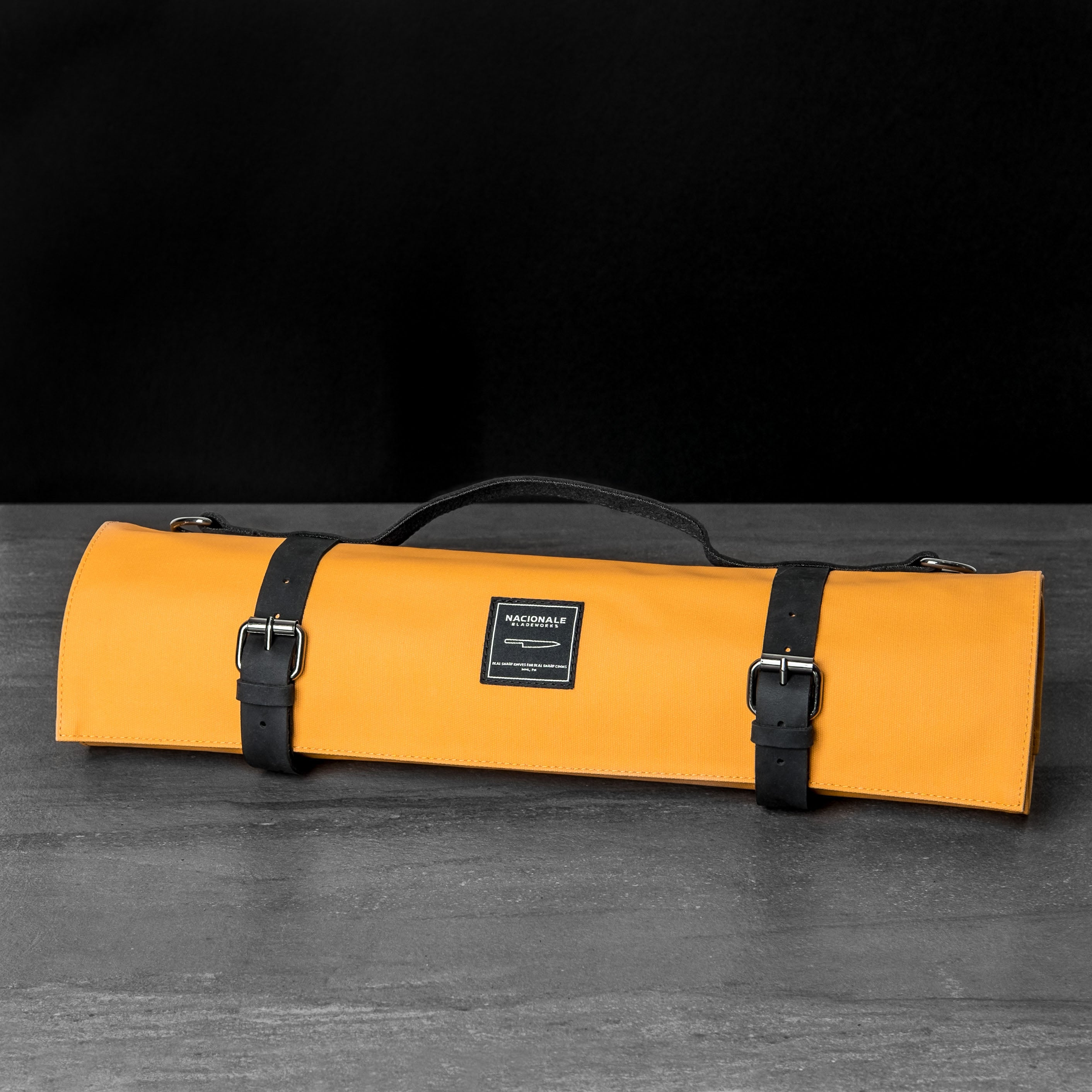 Mustard Knife Bag (Water-Resistant)
