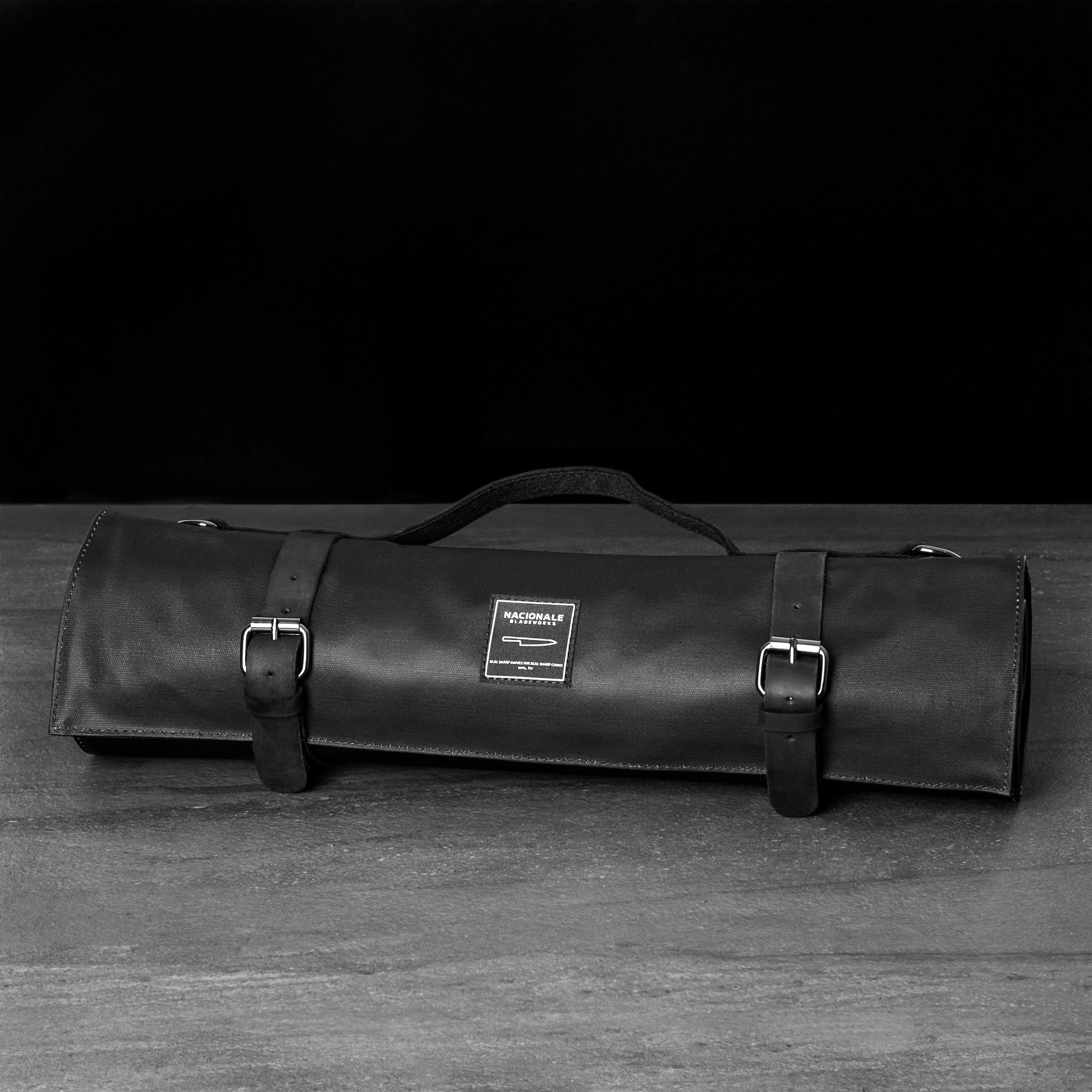 Black Knife Bag (Water-Resistant)