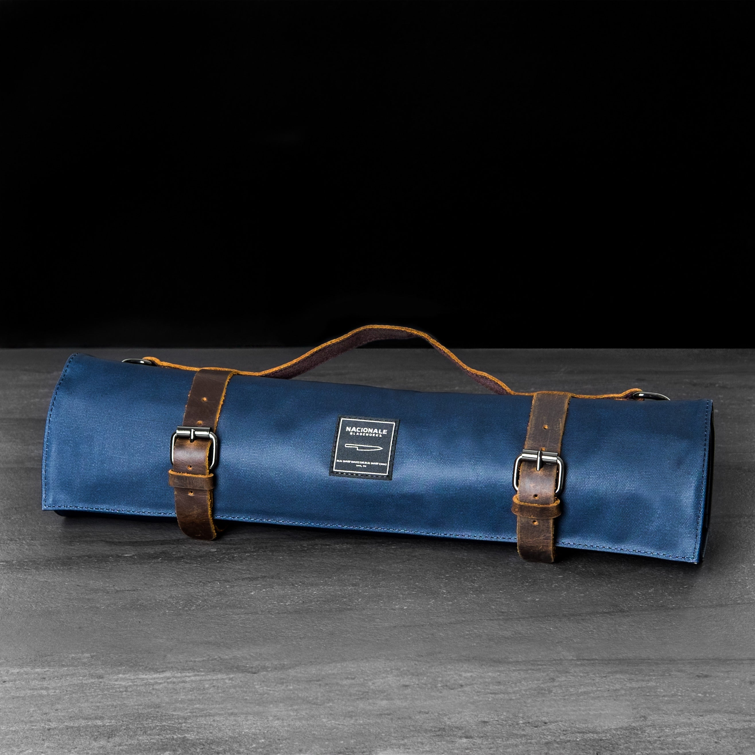 Navy Blue Knife Bag (Water-Resistant)