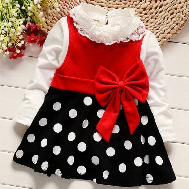 Girls Dresses 2019 New Female Baby Frock Children Spring And