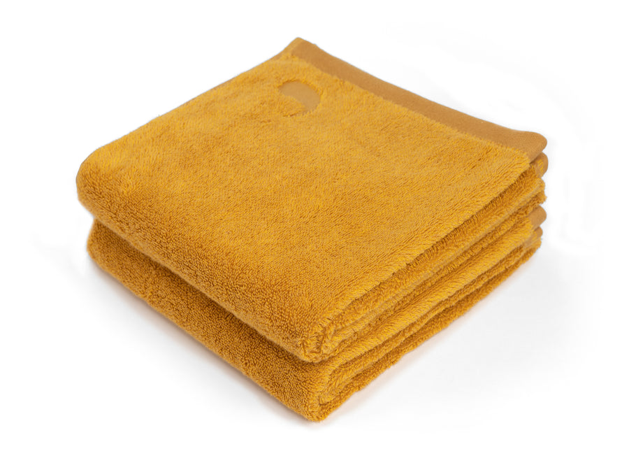 Ahangama yellow junior towel (set of two) - Four Leaves