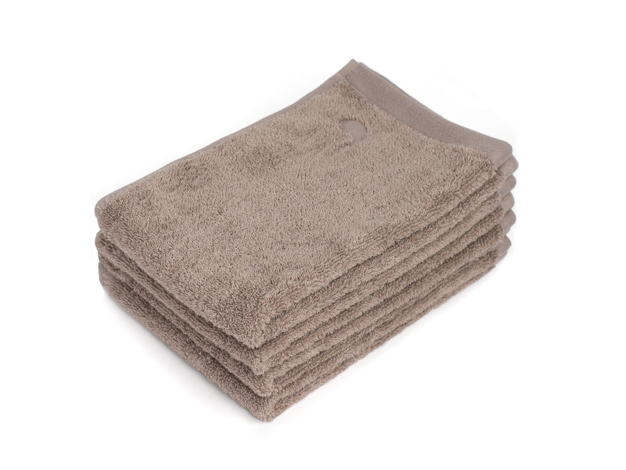 Bentota beige guest towel (set of four) - Four Leaves