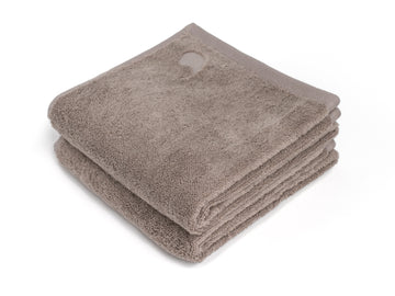 Bentota beige junior towel (set of two) - Four Leaves