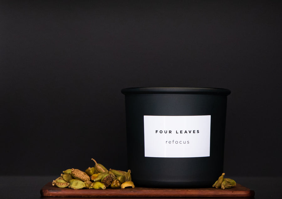 Refocus scented candle - Four Leaves