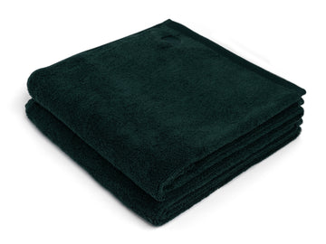 Kandalama green bath sheet (set of two) - Four Leaves