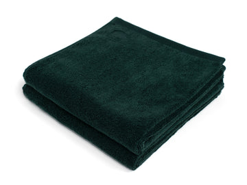 Kandalama green bath towel (set of two) - Four Leaves