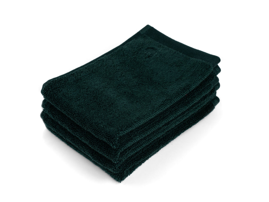 Kandalama green guest towel (set of four) - Four Leaves