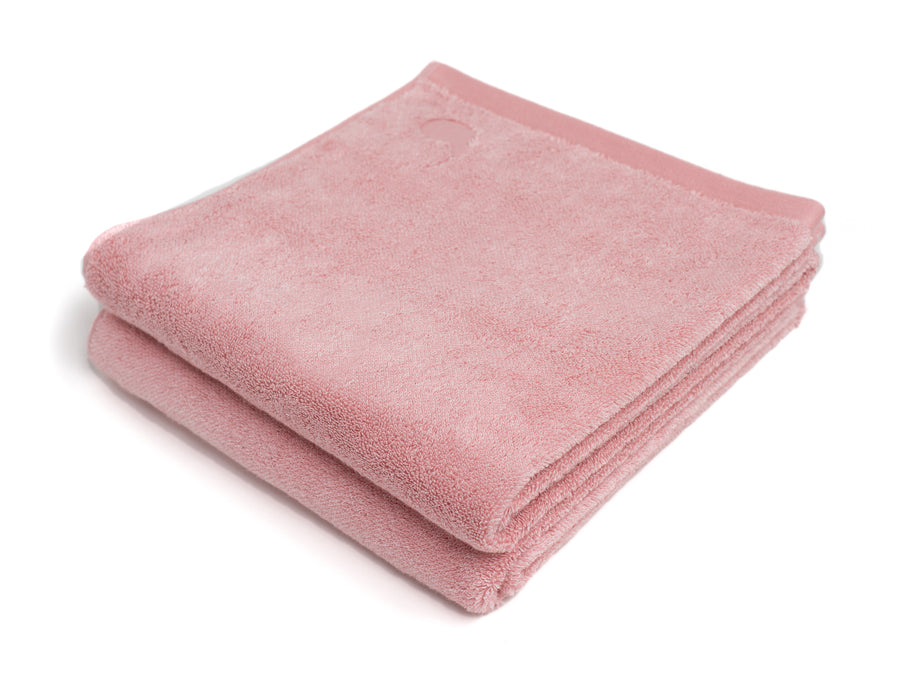 Namal Uyana pink bath towel (set of two) - Four Leaves