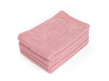 Namal Uyana pink guest towel (set of four) - Four Leaves
