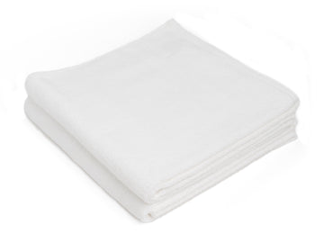 Nayakakanda white bath sheet (set of two) - Four Leaves