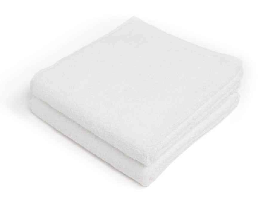 Nayakakanda white bath towel (set of two) - Four Leaves