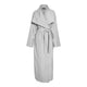 Exode Trench Coat - Pale Grey