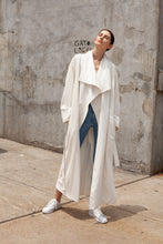 Exode Trench Coat - White