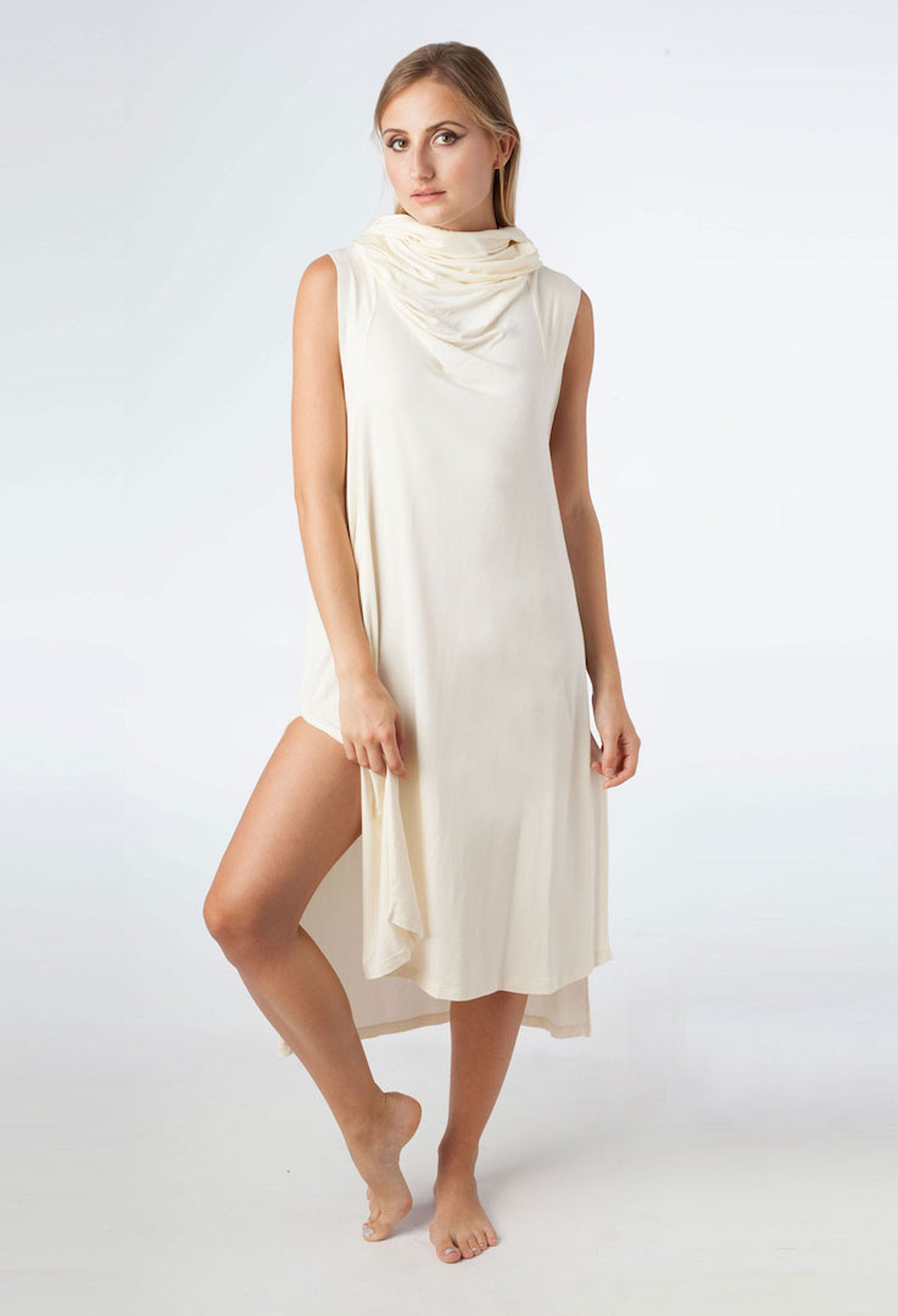 Echape Long Top/Dress - Ivory