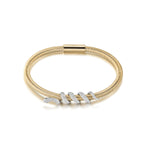 Snake Coiled Bangle Bracelet