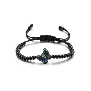 Load image into Gallery viewer, Butterfly Beaded Bracelet