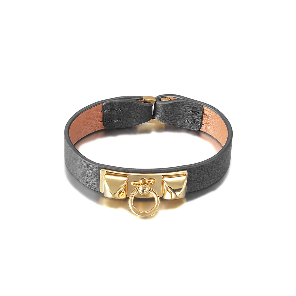 Load image into Gallery viewer, Leather Strap Bracelet