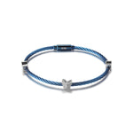 BUTTERFLY STACKING CABLE BRACELET