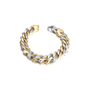 Cuban Chain Bracelet with Lobster Clasp