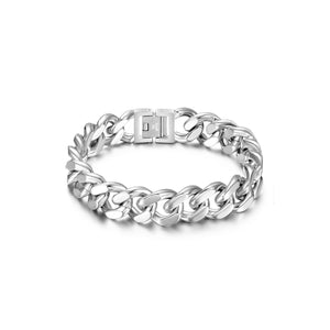 "Load image into Gallery viewer, Cuban Link Chain Bracelet (7.5""/8.5"")"