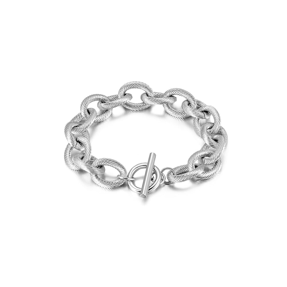 Load image into Gallery viewer, Twisted Wire Link Bracelet