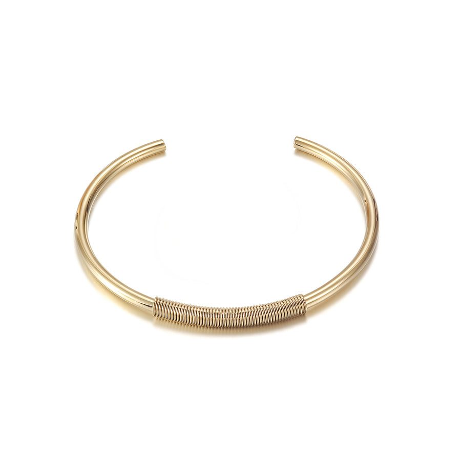 Stacked Narrow Cuff Bracelet