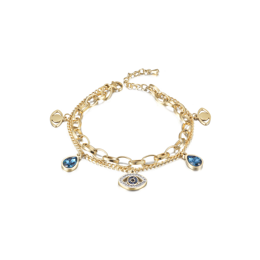 Prevent Harm Evil Eye Bracelet