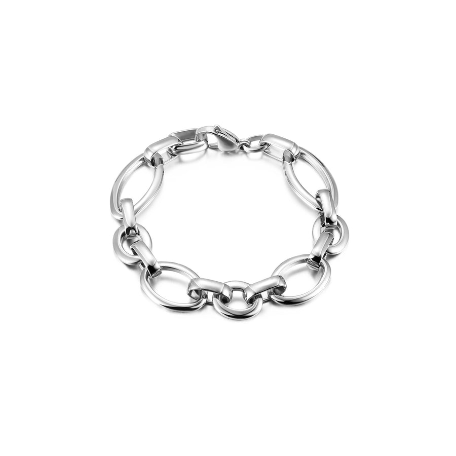 Oval Link Golden Bracelet