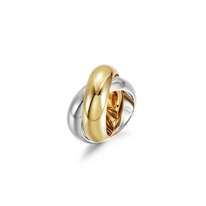Intertwined Chunky Band Ring